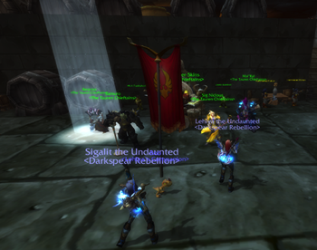 Sigalit and Lehiya in The Grim Guzzler